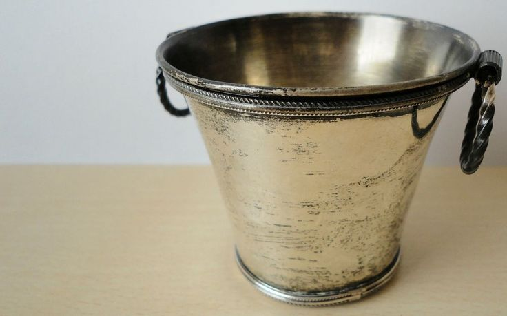 This is a sterling silver bowl shaped as a small bucket. The item is marked (925). | eBay!