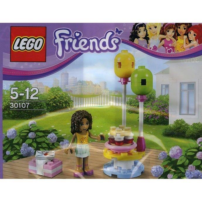 LEGO Friends 30107 Andrea's fødselsdagsfest kr. 39,95 Ikke katalogvare, kun udvalgte butikker HASTER!!!