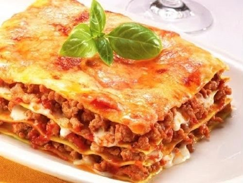 Slimming World Lasagne Recipe