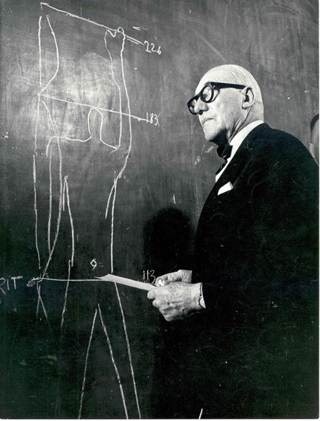 "Le Corbusier (1887-1965) Le Corbusier created the ""Modulor system"" based on the golden ratio and the Fibonacci sequence. He studied the proportions of the human body to improve the function of architecture and furniture."