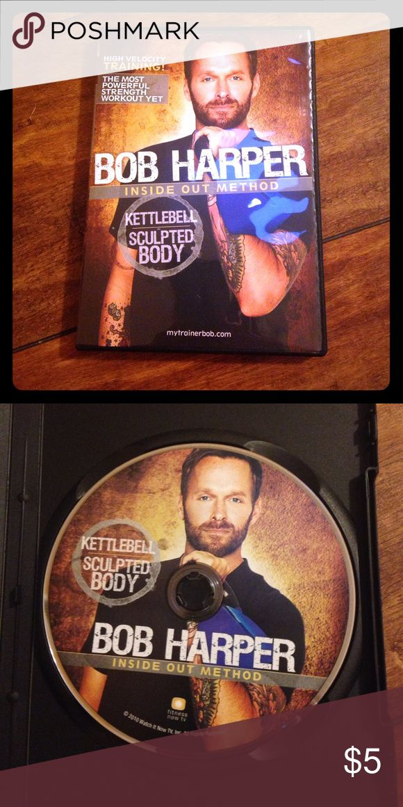 Bob Harper Kettlebell DVD Kettlebell workout. About 50 minutes start to finish. Like new! Other