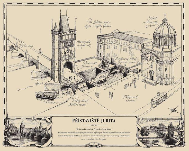 Přístaviště Judita | Pražské Benátky