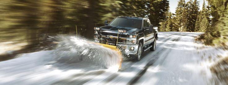 2015 Chevrolet Silverado 2500HD snow plow http://www.santafechevroletcadillac.com