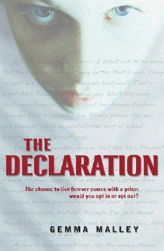 9 best books worth reading images on pinterest book covers book the declaration by gemma malley fandeluxe Images