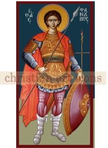 ΑΓΙΟΣ ΦΑΝΟΥΡΙΟΣ - Ξύλινη εικόνα Αγίου Φανουρίου, Agios Fanourios icon