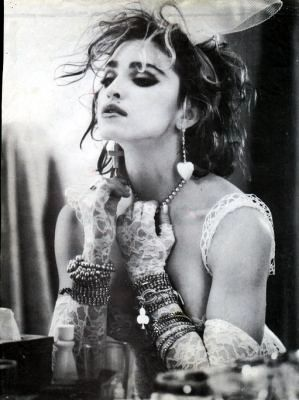 80s Madonna Black and White | Madge 80s - madonna Photo