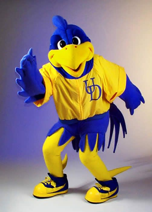 University of Delaware mascot... YouDee... The greatest mascot ever