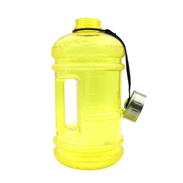 Large Half Gallon Water Bottle With Handle Plastic