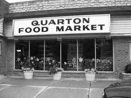 Quarton Market - Birmingham, Michigan..now add Brown's Cleaners and mills Drugs flanking QM