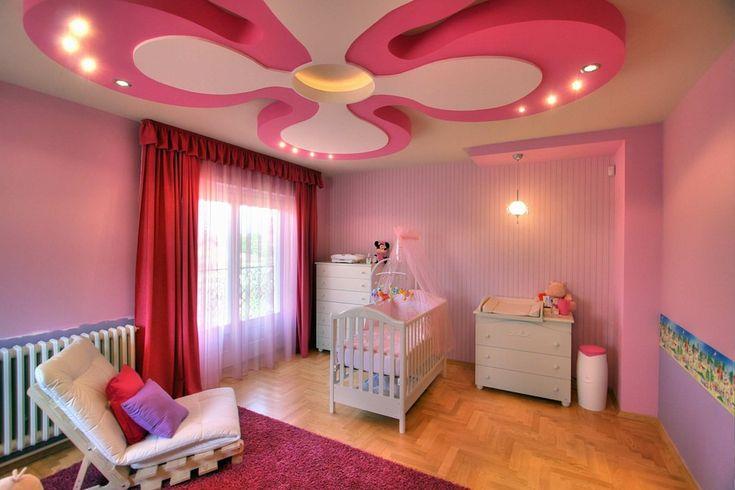 HappyModern.RU | Потолки в детской комнате (60 фото): яркие идеи оформления | http://happymodern.ru