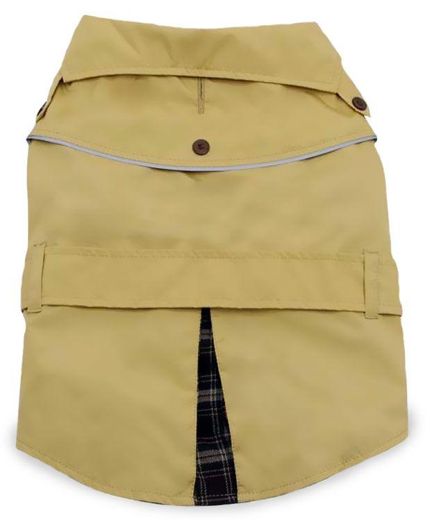 Dogit Trench Coat Beige - XLarge Pet Clothes, Pet Clothing - $19.99