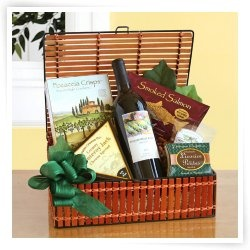 23 best gourmet wine gift baskets images on pinterest wine baskets organic fruit and wine gift box negle Images