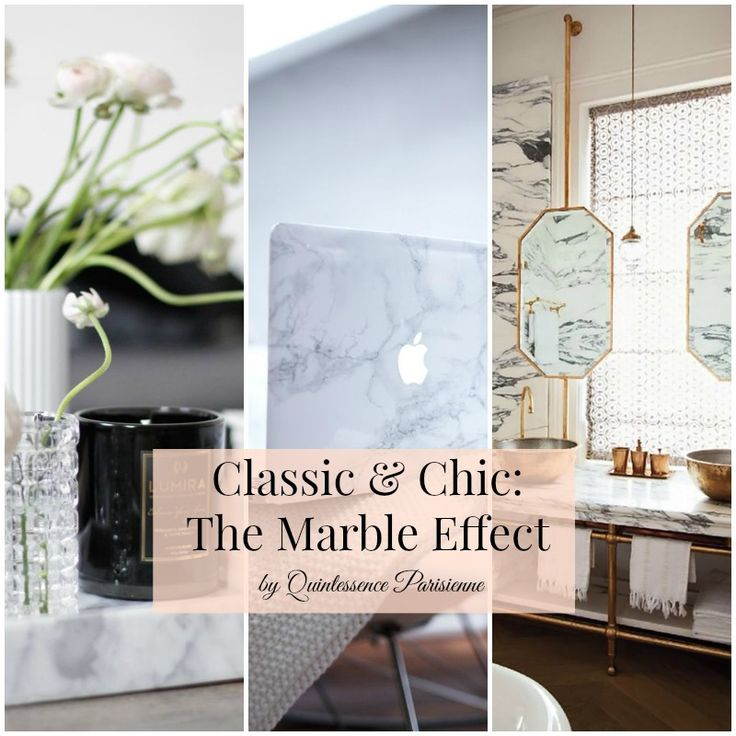 { Home } Decorating with marble