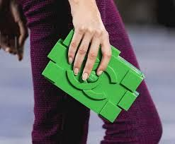 Statement Clutch - fear at rest layered by VIDA VIDA ag6PsE