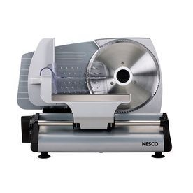 Red Metal Housing 200 watts 1 Speed Removable Stainless Steel Blade Food Slicer