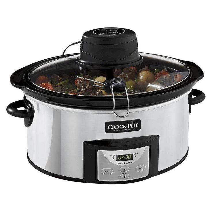 Crock-Pot� Digital Slow Cooker with iStir� Automatic Stirring System