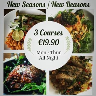 New Autumn tastes for you to try! Be tempted with 3 courses for €19.90 - another…