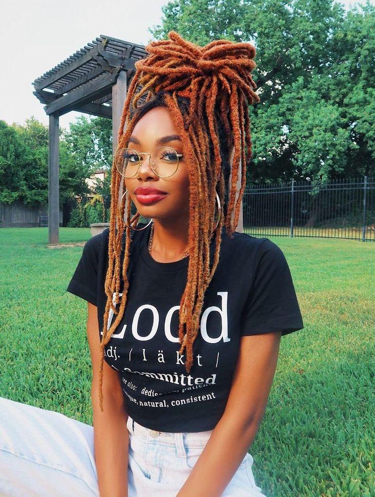 Pin by Johnie Jay's World on LOCS | Dreads black women, Cute dreads, Dreads girl