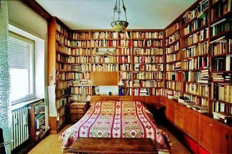 Non riesco a dormire se non sono circondato da libri. - J. Borges