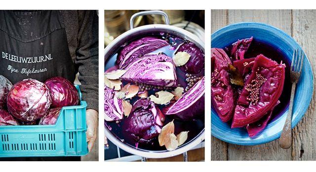 Ingemaakte rode kool alleen uit een potje? Echt Niet! Deze heerlijke groenten maak je gewoon zelf, met dit recept vol specerijen bijvoorbeeld.