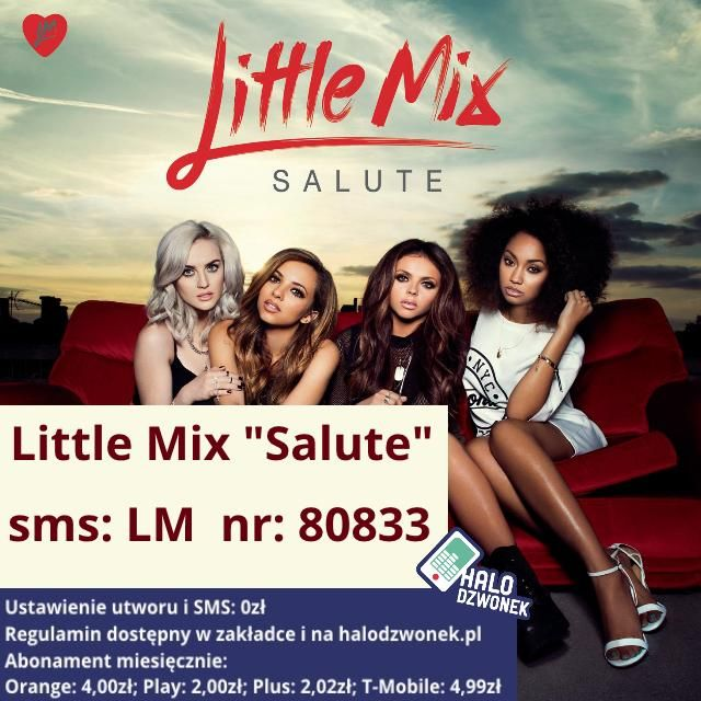 Little Mix zamiast sygnału oczekiwania na połączenie! @LMupdates @LittleMixPolska @LMPL_UPDATES #Littlemix #Salute
