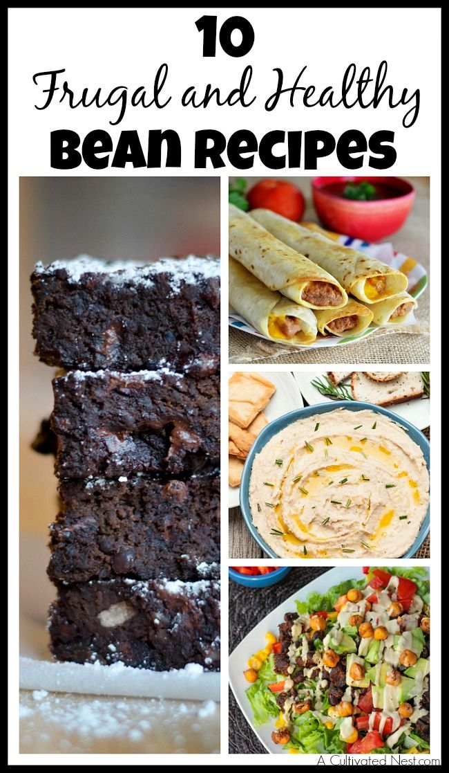 A rice and beans diet is a great way to save money but get's boring after a while. Never get tired of eating beans again! If you're on a budget, beans are the perfect ingredient for any meal! Check out these 10 frugal bean recipes!