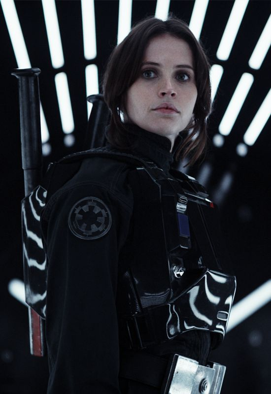 Jyn Erso - Rogue One: A Star Wars Story OMG Cannot wait for Dec 16!