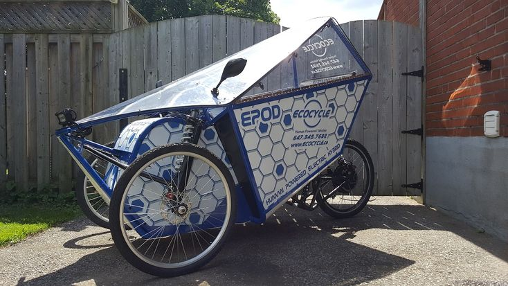 EcoCycle Lean Steering Tricycles-Home