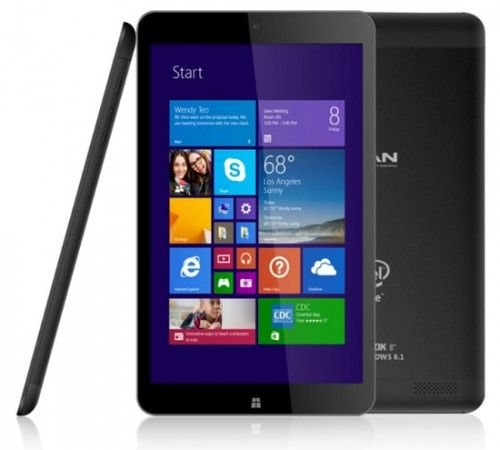 Harga Vanbook W80, Tablet Windows 8.1 Murah Milik Advan