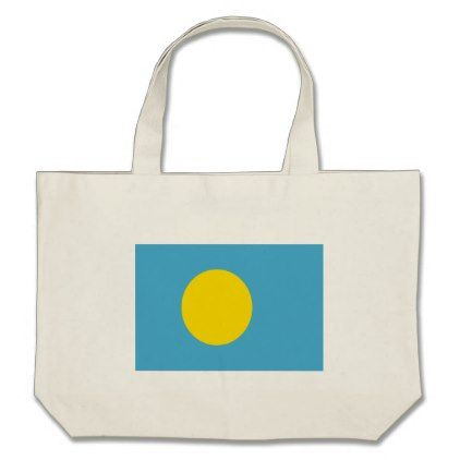 #Low Cost! Palau Flag Large Tote Bag - #travel #bags