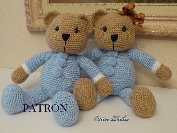 Amigurumi Tutorial Osito : 388 best Teddy Bear images on Pinterest