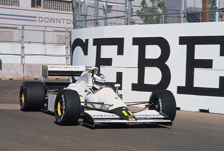 Mika Pauli Häkkinen (FIN) (Team Lotus), Lotus 102B - Judd EV 3.5 V8 (finished 13th)1991 United States Grand Prix, Phoenix Street Circuit