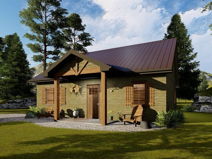 Pin By Rodney Johns On Riverside Cabin House Plans Cottage Plan Cabin Plans