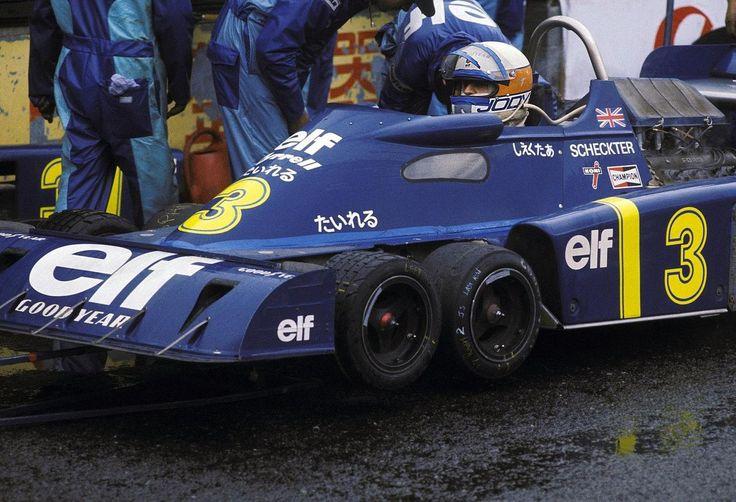 1976 Japanese Grand Prix Tyrrell P34 Jody Scheckter