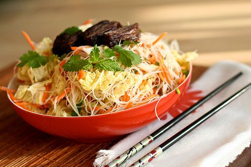 Elyse... is this our most favorite Vietnamese salad that we've been trying to find since moving up here?