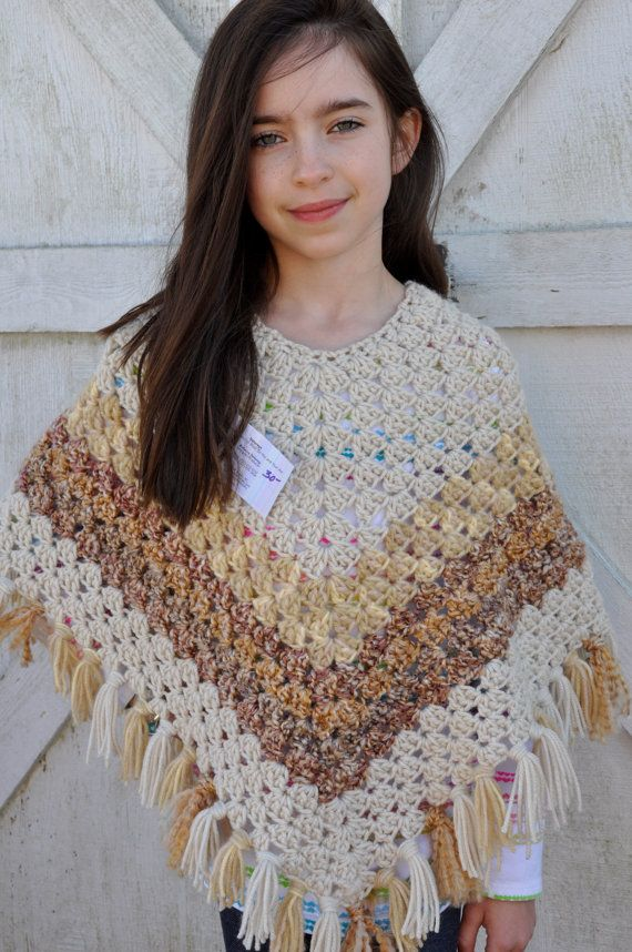 Most Design Ideas Girls Easy Poncho Knit Pattern Pictures
