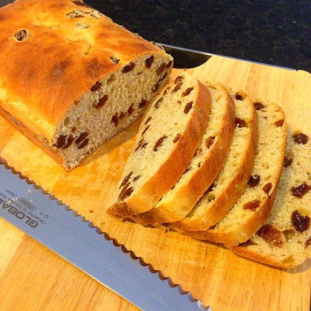 Cinnamon & Raisin Toast Bread Recipe - coasterkitchen - Dayre
