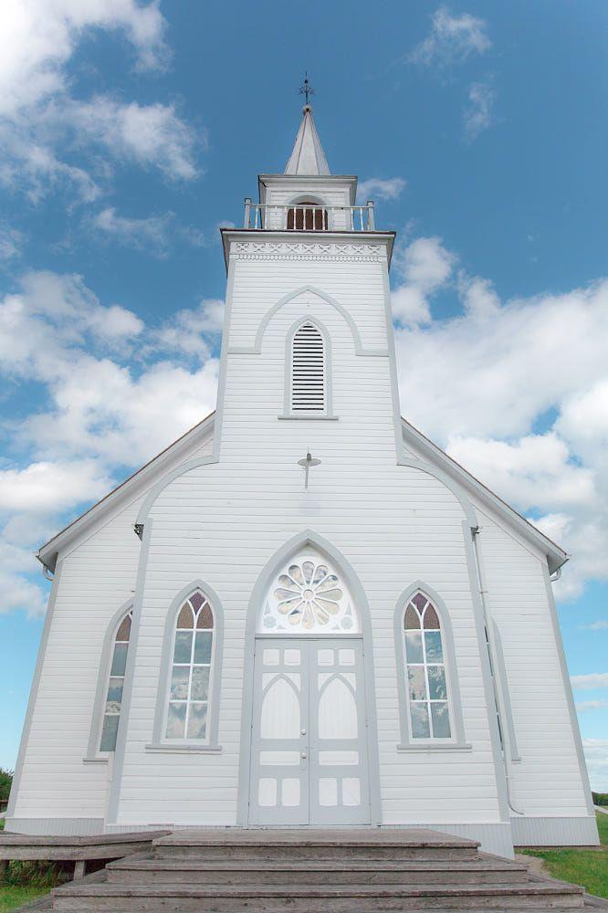 Little white church (Manitoba) by Manitoba Prairie Girl Who TakaLottaPictures on 500px