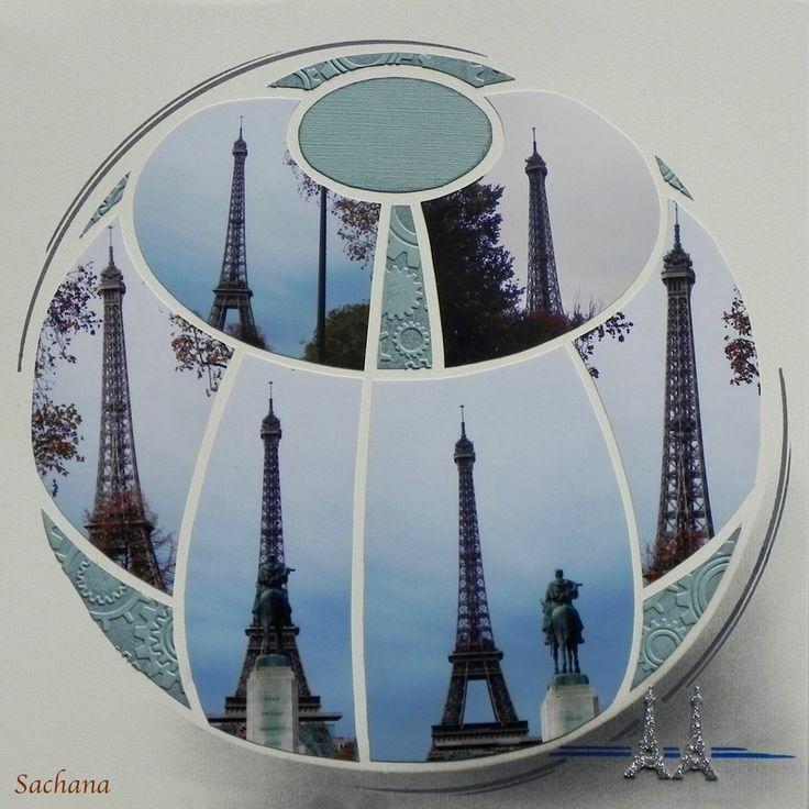 La vieille Dame gabarit sphere easy scrap