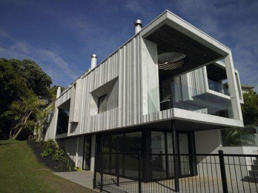 contemporary concrete house exterior designs