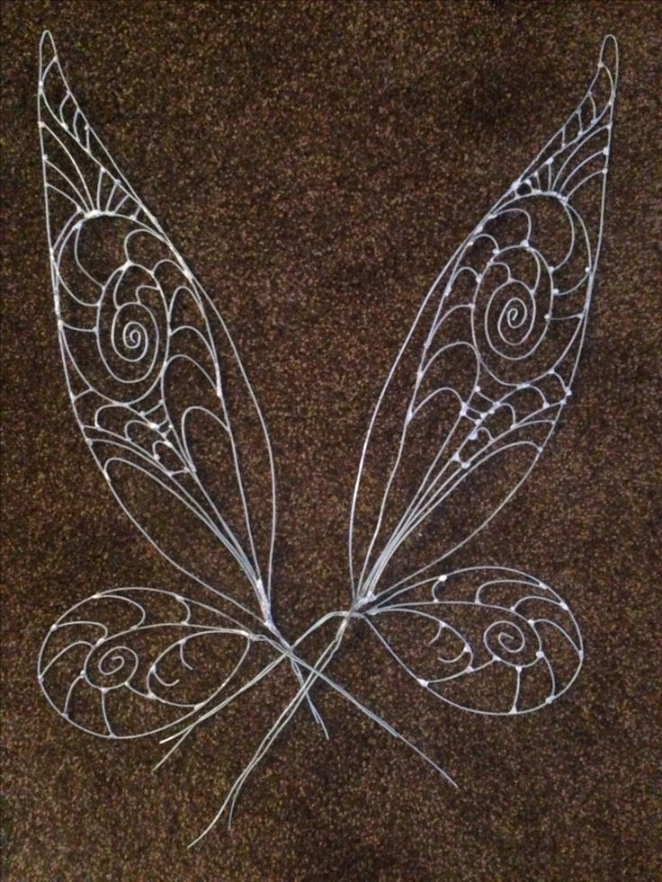 Metal work Tinkerbell wings