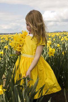 beautiful Flora and Henri dress