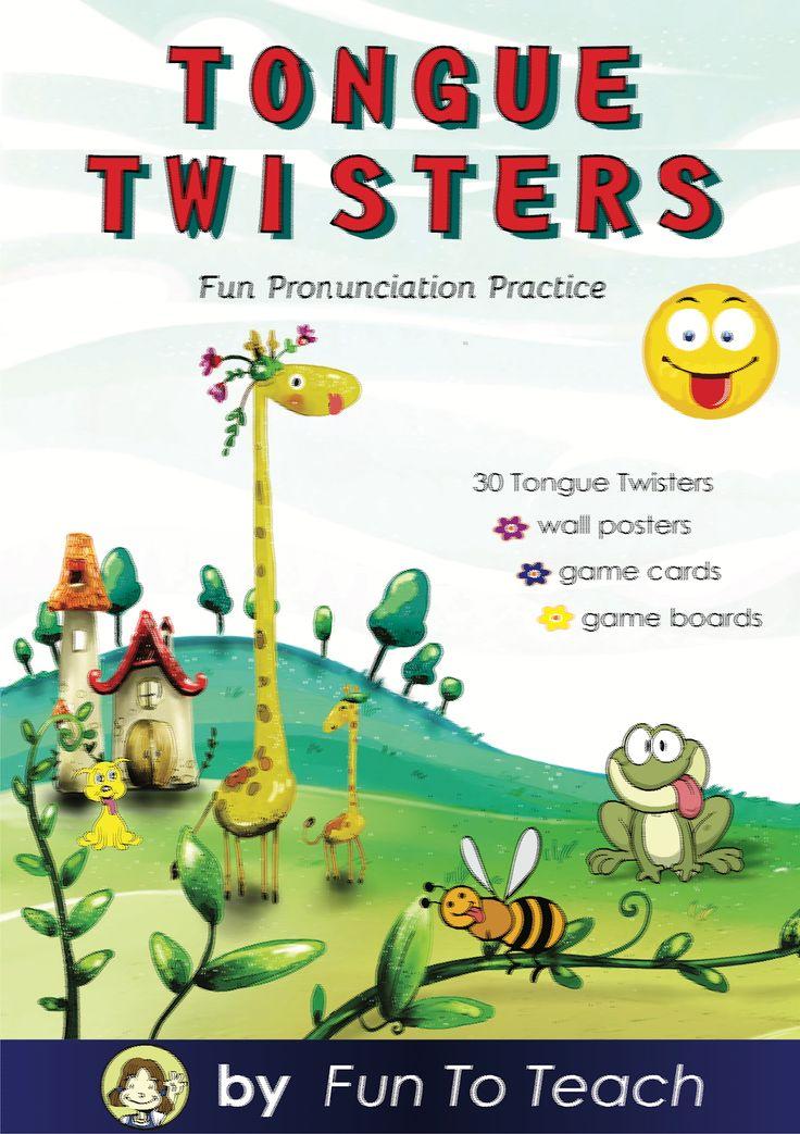 Fun To Teach ESL - Teaching English as a Second Language: Tuesday's Tongue Twisters!