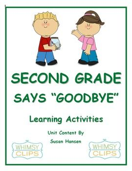 end of the year writing activities for second grade