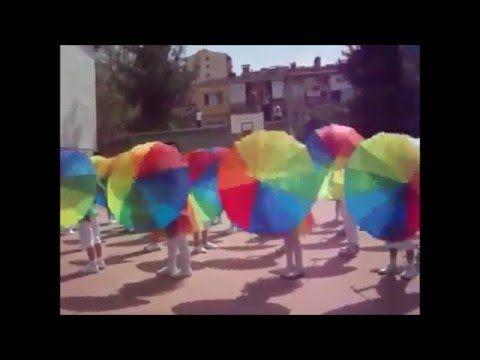 Rüyalar Ülkesi TV - 23 Nisan Şemsiye Gösterisi - YouTube