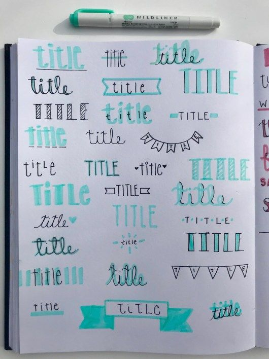 The Ultimate Step-By-Step Bullet Journal Guide for Beginners! – Lily Cahal
