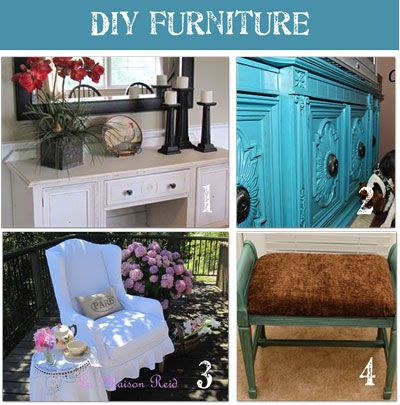 Website Picture Gallery DIY Furniture Makeovers Before and After with Tutorials for each one