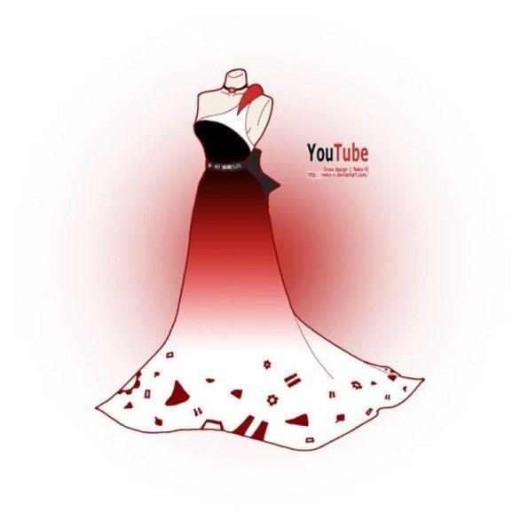 Web in Vogue: i social network diventano abiti http://bit.ly/1l5dmH1 #hitech #tecnologia #youtube #dress