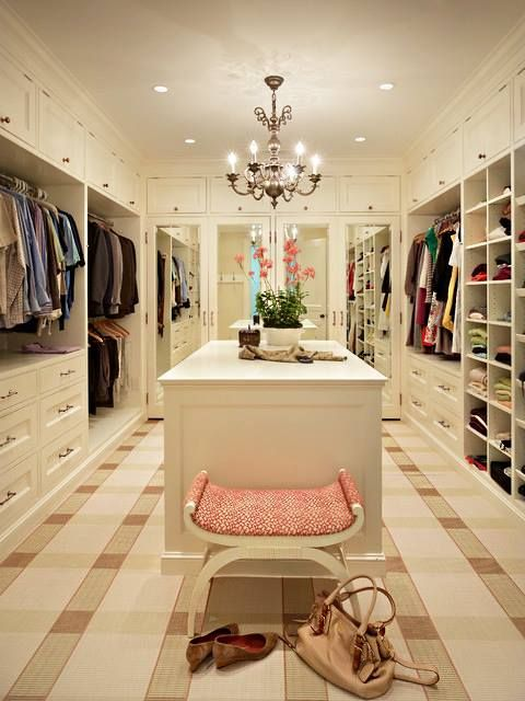 Large closets are very important to many buyers.   Would you rather have a large walk-in closet or an extra bedroom in your house?