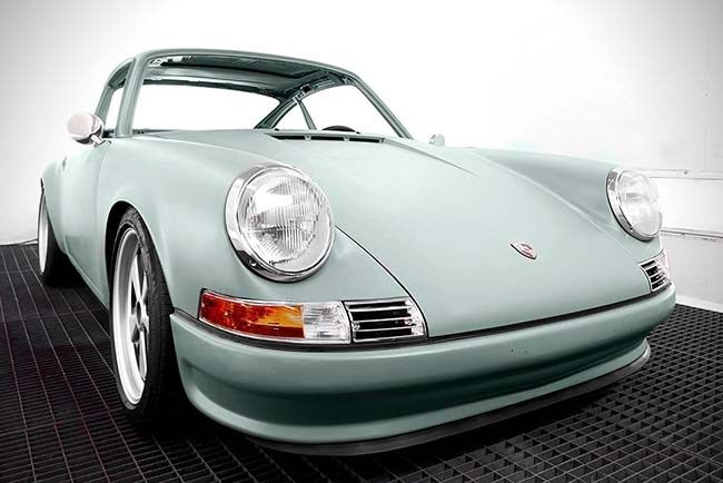 Quintessenza All-Electric #Porsche911 by Voitures Extravert - Priced at $370,000. Any takers?